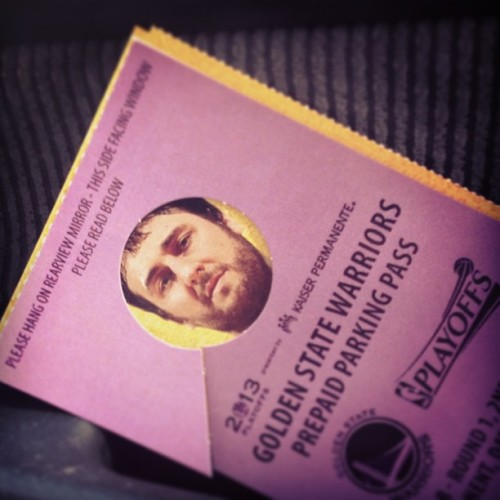 Peak-A-Bogut #latergram #gsw Appropriate face for tonight's ticket, a man who made 6 shots, 5 of which were dunks.