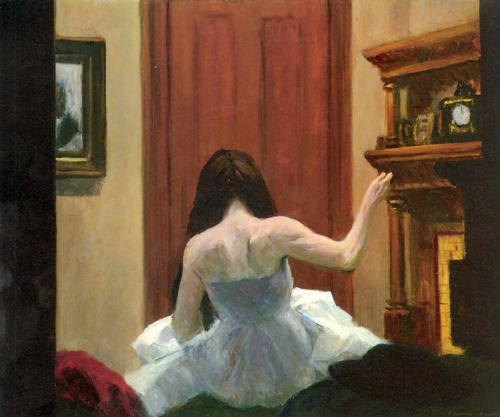 kvetchlandia:  Edward Hopper     New York Interior     c.1921