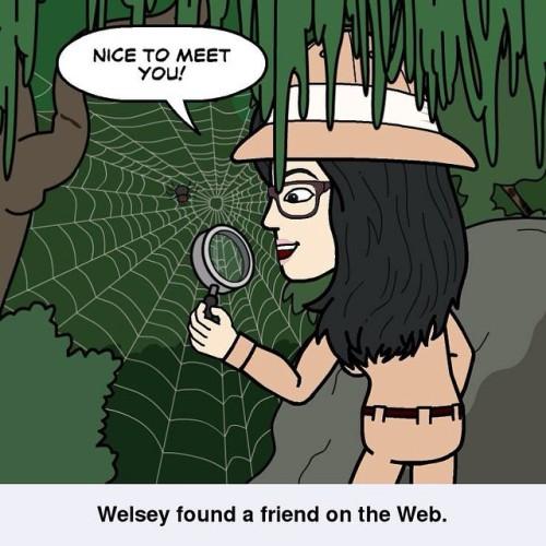 The Inter-Web that is 😂😜😘😄 #onlinefriends #internet #internetfriends #thankyou #friends #bitstrips