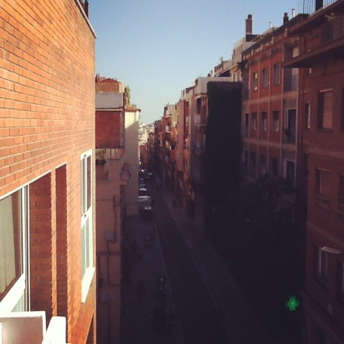 Down the street from the hotel #Barcelona #studyabroad (at Bertran Aparthotel)