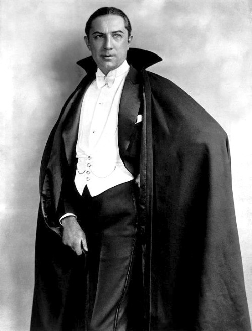 Young Bela Lugosi as Dracula