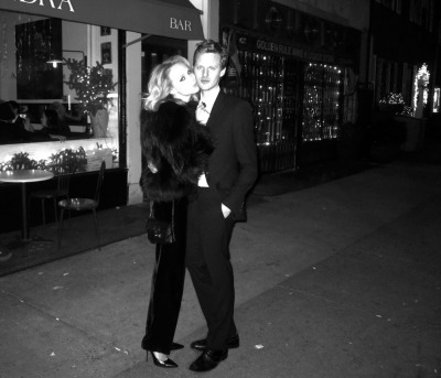 A glamorous night forever captured on Hudson Street…West Village, NYC (via Style by Kling)