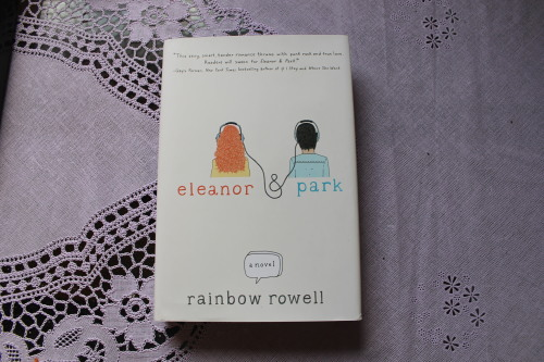 """Eleanor and Park"" by Rainbow Rowell. A book every living person should read. Just saying."