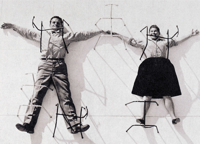 free-man:  Saturday Inspiration - Eames: The Architect and The Painter