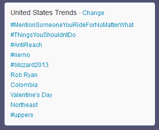 worldsfinestonline:  #Antireach is trending on Twitter! The fans have spoken … again!
