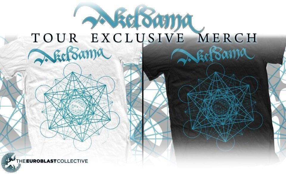 So guess what?!?! The shirts you see above which were originally exclusive to our Germany tour. We are now stocking an online store with these babies for your purchase pleasure. Check out our Facebook page for further information regarding the sale of Akeldama merchandise. Once we sell these babies there will be far more merchandise purchased for you guys to check out. ;D Maybe grab one from us sometime soon and support some progressive metal :3 Lots of love from all of us. -Mikey