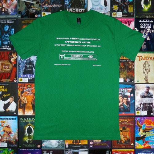 laughingsquid:   The Following T-Shirt Design Has Been Based on the MPAA's Film Rating Review System