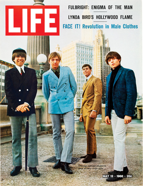life:  On this day in LIFE — May 13, 1966: Face it! Revolution in male clothes