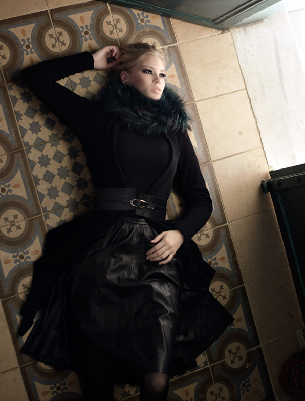 "stormtrooperfashion:  Adeline Vaher-Vahter in ""Orient Express"" by Petia Cholakova for MODA Magazine, November 2012"