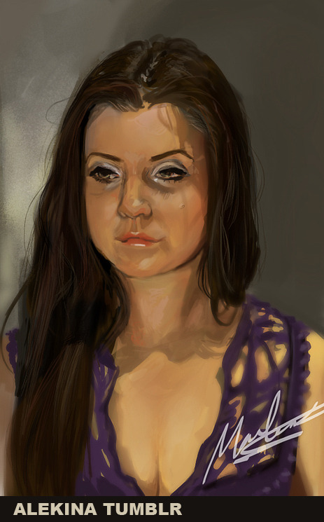2hr study from life. My lovely flatmate Ewelina endured it like a champion, thank you! (also it was sooo much fun, definitely doing this again!) On my DA