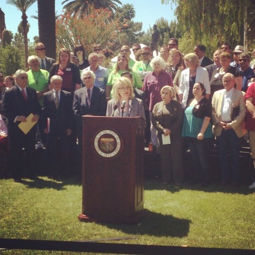 The #AZ mental health community was out in full force to support my #Medicaid Restoration Plan.