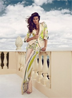 fashion-universes:  ISABELI FONTANA IS A GOLDEN GIRL FOR VOGUE LATIN AMERICA'S MARCH 2013