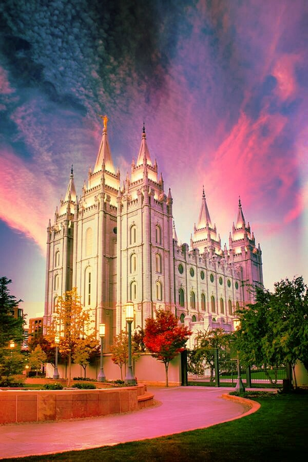 Salt Lake City Temple | Utah Follow me | itsjustanedit