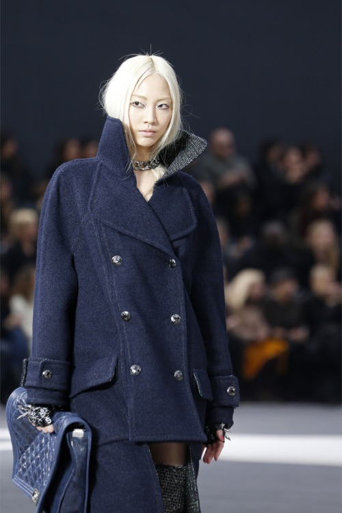 oncethingslookup:  Chanel Fall 2013 RTW