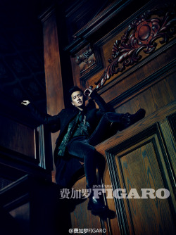beautifulhangeng:  fuckyeahhangeng:  cr: figarochina  Han Geng - Be A King of Own Life [Madame Figaro - Feb 2013 issue]