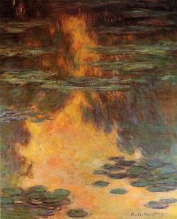 Water Lilies, Claude Monet, 1907.