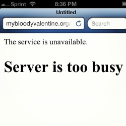 This will be the story for at least the next month. #thenewmybloodyvalentinealbumisout #MBV