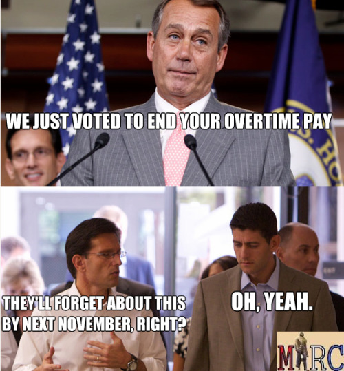 No, we won't. Republicans are done come 2014.