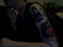 So happy with the progress of my sleeve so far