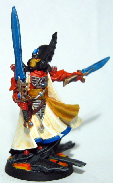 Eldar Farseer, Craftworld Lugganath