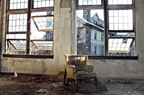 Miss Peregrine's Abandoned College for Girls http://www.facebook.com/fracturedporcelainphotography