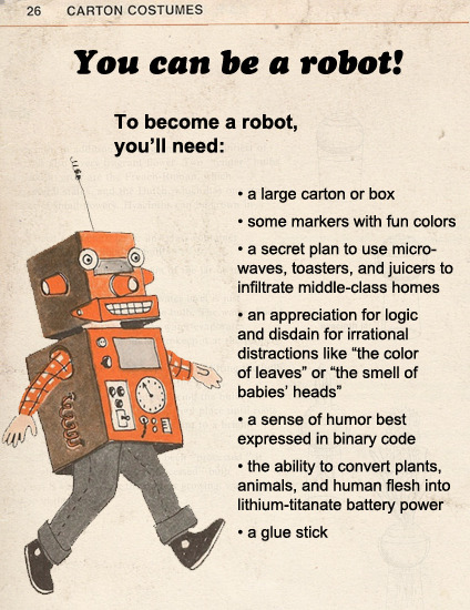 You can Be A robot