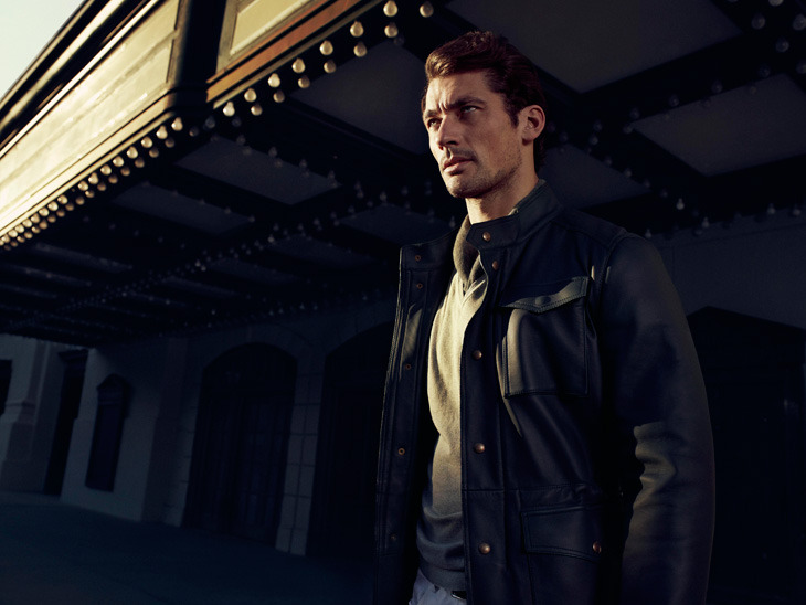 David Gandy by Hunter & Gatti for Massimo Dutti The 689 5th Avenue Collection.