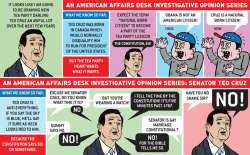 First and second entries of my Investigative Opinion Comics Series on Senator Ted Cruz