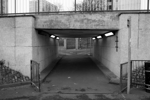 Does anyone recognise this underpass? Nottingham, January 2013.
