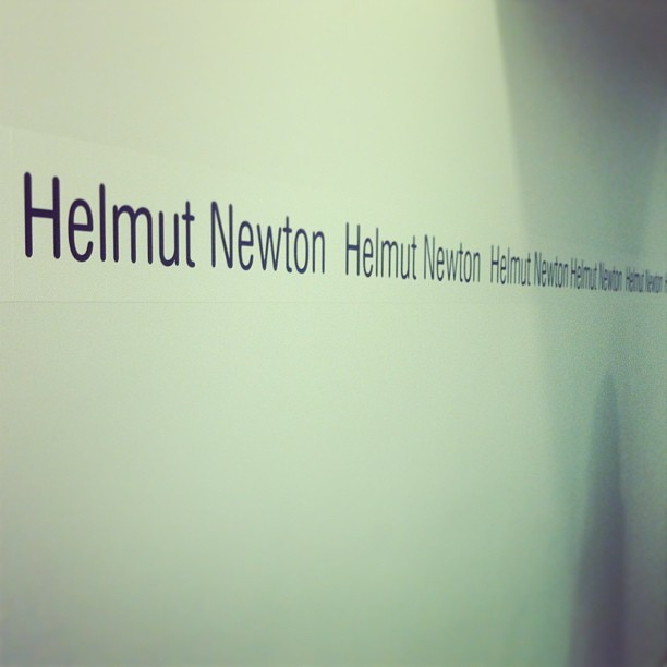 #helmutnewton #exhibition