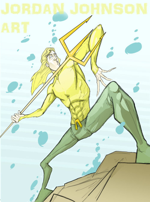 Aquaman by Jordan Johnson Magic Monday