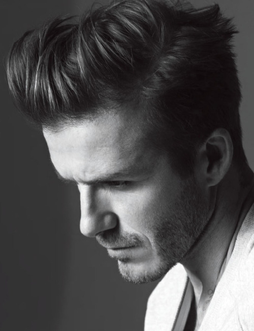 David Beckham  covers the Spring/Summer '13 issue of  Man About Town magazine  shot by Karim Sadli.