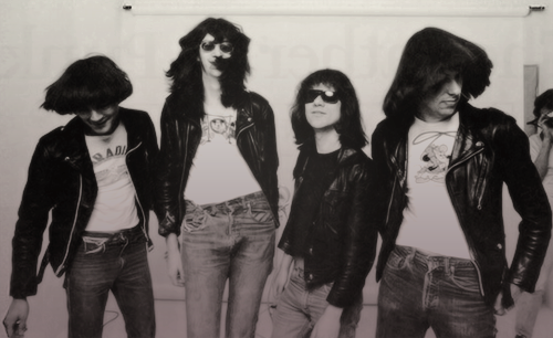 cretin-family:  The Ramones, Los Angeles 1977