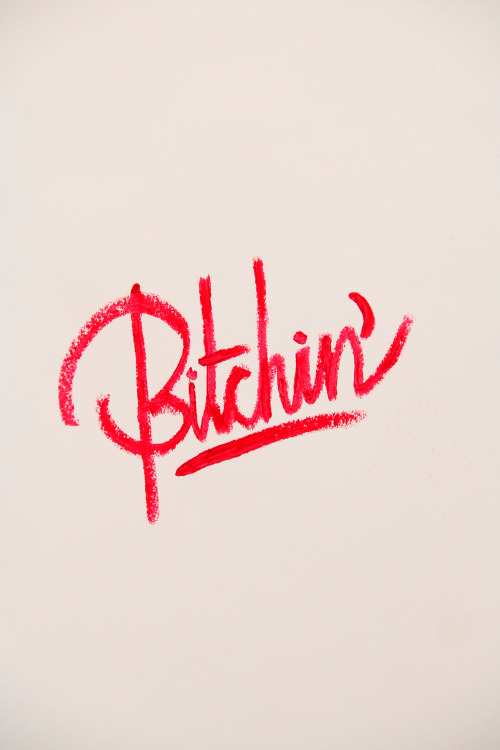 "its-a-living:  "" Bitchin' "" by: It's a living © Instagram: @itsaliving"