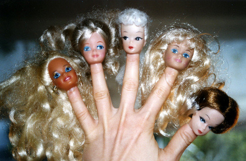 galambosnikolett:  barbie, creepy, different, hand, odd - inspiring picture on Favim.com on We Heart It - http://weheartit.com/entry/51463597/via/galambosniki Hearted from: http://favim.com/image/126539/