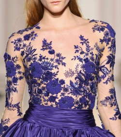 monsieur-j:  Zuhair Murad Fall 2012 Couture Runway Details