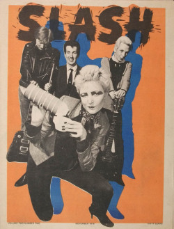 zombiesenelghetto:  Siouxsie and the Banshees, Slash Magazine, November 1978