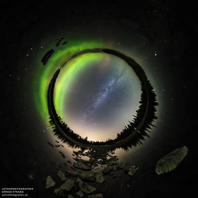 #night_sky, #astrophoto, #aurora, #milky_way, #sweden