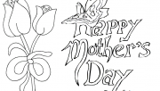 (via Printable Happy mothers day card with tulips coloring pages - Printable Coloring Pages For Kids)