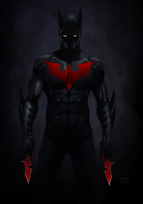 yellow-park-bench:  Batman Beyond by *wyv1