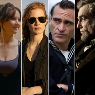 Find out which movies made Peter Travers' list of the best movies of 2012.