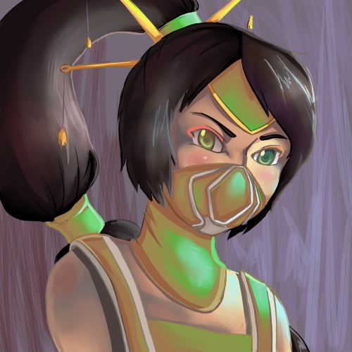 kiwislayer:  YO champ number 2: Akali, the Fist of Shadow trying to develop a more refined coloring style…I need to be more precise… >u> Visit this tag for what I have so far: http://kiwislayer.tumblr.com/tagged/legu