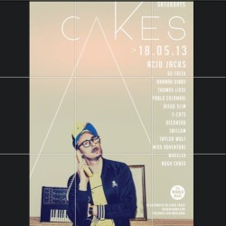 tonite. CAKES. world bar. Sydney. #randomacidmemories