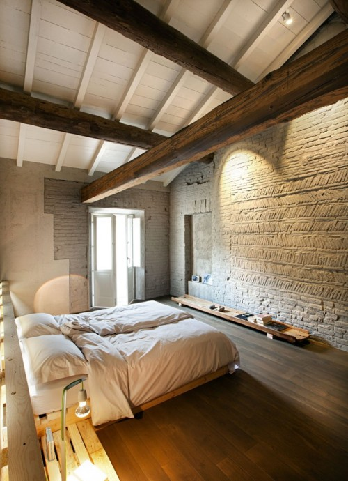 justthedesign:  Bedroom Italian Country Style By  Stefano Silvestrini Gorni architects - Studio Associate Archiplan , Bulgarelli snc