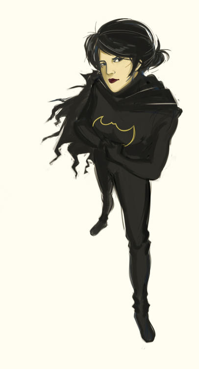 Cassandra Cain- Batgirl by ~poof-ball