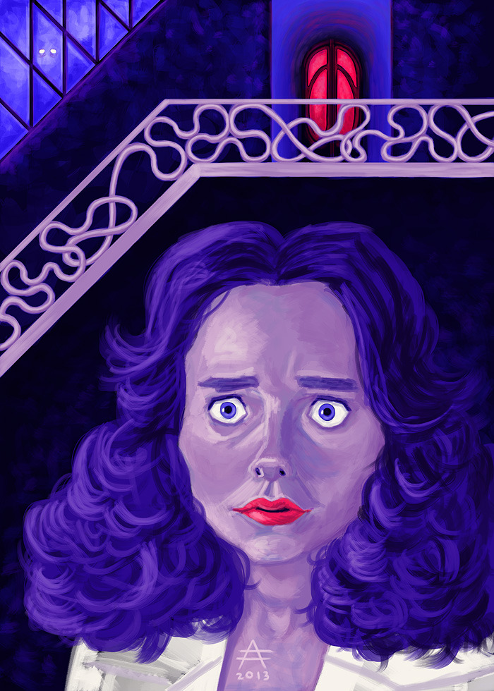 Jessica Harper as Suzy Bannion in Suspiria - for Silver Screen Society.