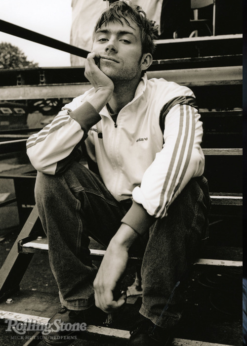 "rollingstone:  Happy 45th birthday Damon Albarn! Read our 1992 ""New Faces"" profile on Blur and find out what Albarn had to say about his band's new success.  Love this man !!!"