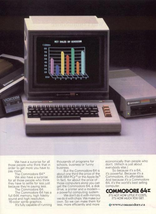 Commodore 64 - 1985 Commodore.ca
