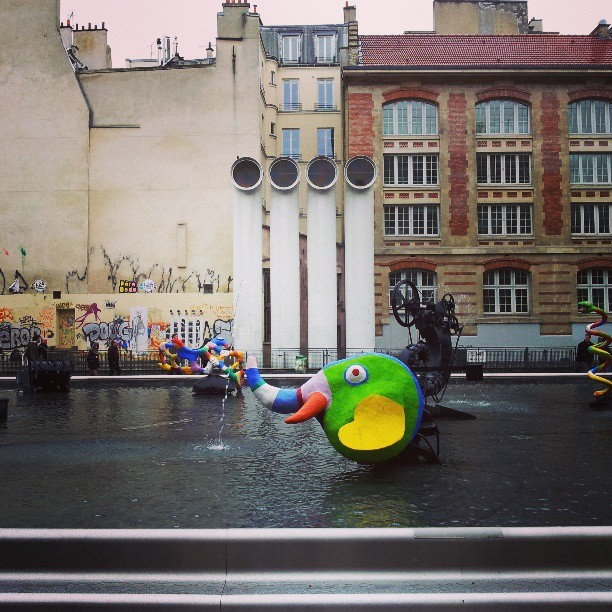 Near the Pompidou Centre #Paris #France #art #city #street #sculpture #igers #igersdublin #Insta_daily #photography #photooftheday #picoftheday #jj