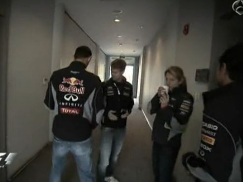 f1st99:  They shook hands!! And didn't kill eachother joke joke!   They weren't super friendly but they didn't ignore eachother… That's a start, isn't it? This was on the pre race coverage of the Spanish TV